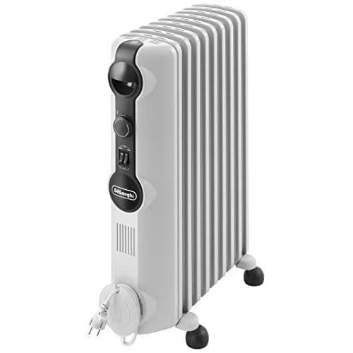 41MsFzpm%2BmL. SS500  - DeLonghi Radia S TRRS0920 2.0 kW Oil Filled Radiator with Thermostat
