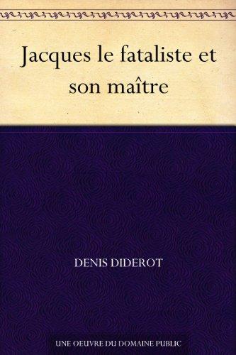 Couverture du livre Jacques le fataliste et son maître