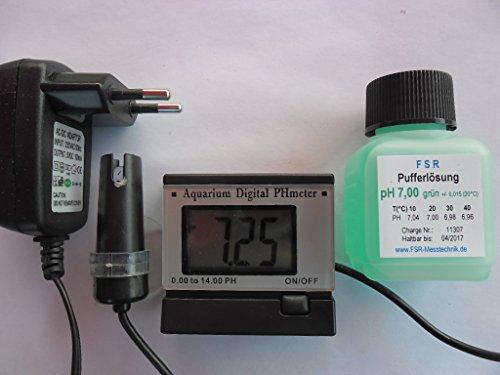 pH Messgerät mit Schwimmsonde pH Tester Meter Aquarium Wassertest Digital NEU