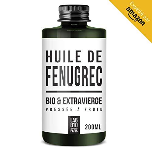 HUILE DE FENUGREC BIO 100% Pure et Naturelle, Pressée à Froid & Extra Vierge....