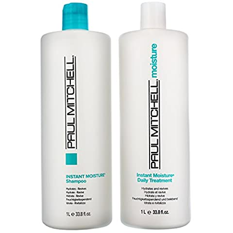Paul Mitchell Moisture Instant Moisture Daily Shampoo 1000ml and Instant