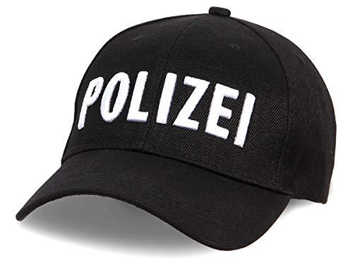 Alsino Unisex Baseball Cap Polizei Motiv Bestickt verstellbar aus 100{b80fd7bce2dc0097859d2e141a85561b59735d2d8147424a595a4916760fbde6} Baumwolle, schwarz