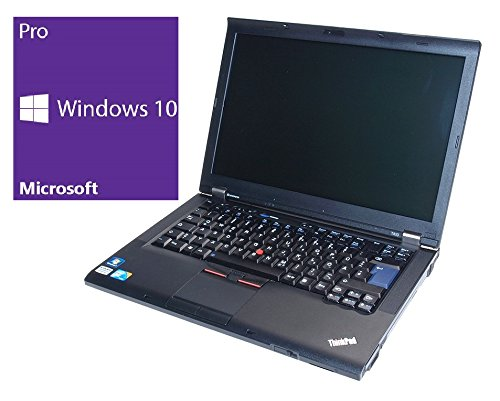 Lenovo ThinkPad T510 Notebook | 15.6 Zoll | Intel Core i5-520M @ 2,4 GHz | 4GB DDR3 RAM | 320GB HDD | DVD-Brenner | Windows 10 Pro vorinstalliert (Generalüberholt) 320 Gb Hdd-dvd