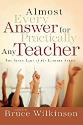 Almost Every Answer for Practically Any Teacher (Seven Laws of the Learner) (Paperback) - Common