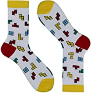 BIANCHI SOCKMAKERS IN ITALY - SINCE 1932 - Calze corte disegno tetris, Uomo