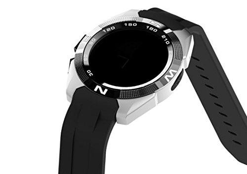 Preisvergleich Produktbild Stoga ST-NB-1 Smart Watch Activity and Sleep Tracking Watch Bluetooth 3.0/4.0 Waterproof Fitness Tracking-Silber