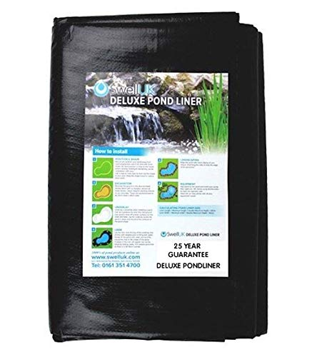 Swell UK Pond Liner with 25 year guarantee - 5 x 5m