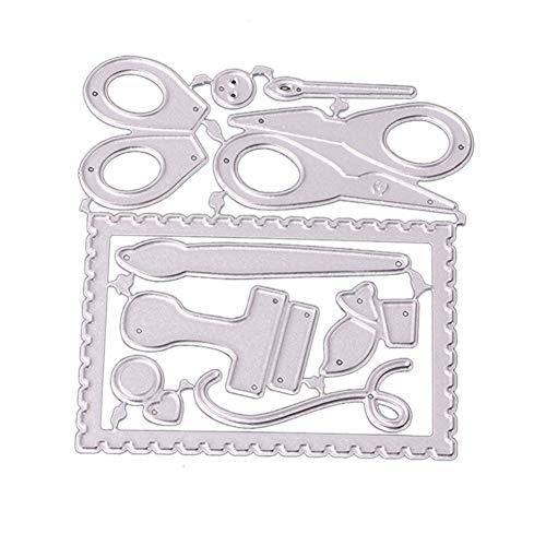 Muzhili3 - Troqueles corte manualidades metal, diseño
