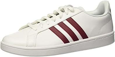 adidas Herren Vs Advantage Sneaker Weiszlig; 7 EU Black (Negbas/Ftwbla/Ftwbla) 46 2/3 EU
