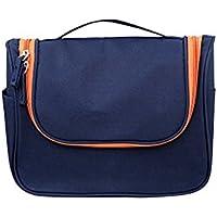 tellw hombre al aire libre viaje bolsa de lavado multifuncional bolsa de almacenamiento de gran capacidad impermeable baño bolsa neceser, hombre, azul oscuro