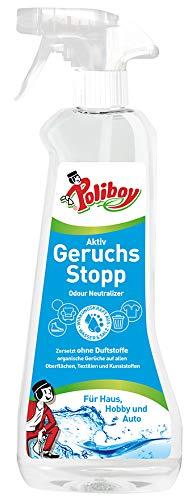 Poliboy Aktiv Geruchs Stopp - Geruchsentferner - Geruchsneutralisierer - Bannt schlechte Gerüche (1 (500ml))