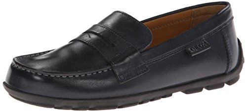 Geox J Fast F, Boys' Loafers, Blau - Bleu (Navy), 9 UK