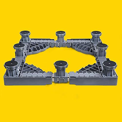 Plateau des ménages Support de trépied de Support de Machine à Laver à Tambour Mobile Universel Universel, Support Automatique élevé, Portant 500kg
