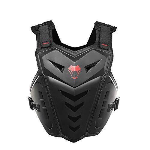 Kostüm Brust Rüstung - TIUTIU Motocross Kreuz Brust Brust Ritter Outdoor Sports Protector Stoßfest Atmungsaktiv Brustschutz Zurück Fahrrad Ski Reiten Rüstung