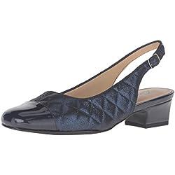 Trotters Dea Damen US 12 Blau Pumps Schuhe