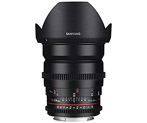 Samyang Objectif 24 mm T1.5 ED AS IF UMC VDSLR II Micro 4/3