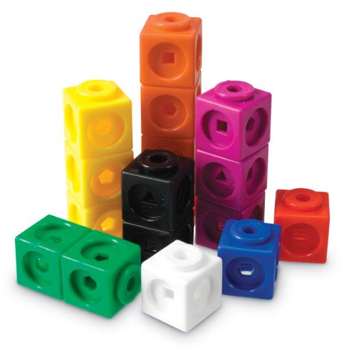 Learning Resources Mathlink Cubes (Set of 100)