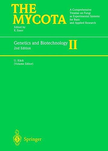 Genetics and Biotechnology (The Mycota, Band 2) -