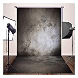 (FR) 150x300cm Schwarz-brauner Betonmauerphotographiehintergrund Portrait Hintergrund Studio Requisiten XT-3033