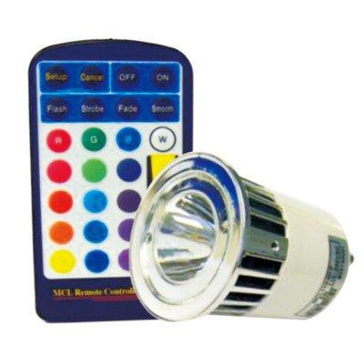 Energiesparlampe GU10, LED, Standalone Fernbedienung, Farbwechsel Glühbirne