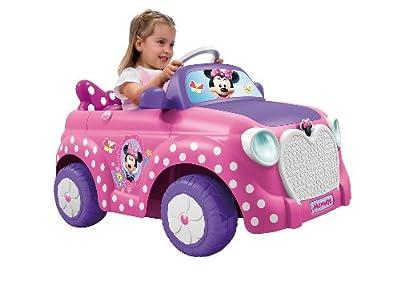 Famosa - Coche modelo Minnie con batería de 6V por Famosa