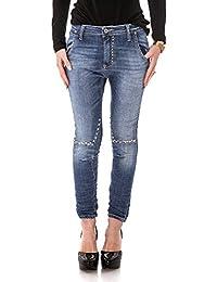 PLEASE - P53 e02 femme jeans pantalon slim fit