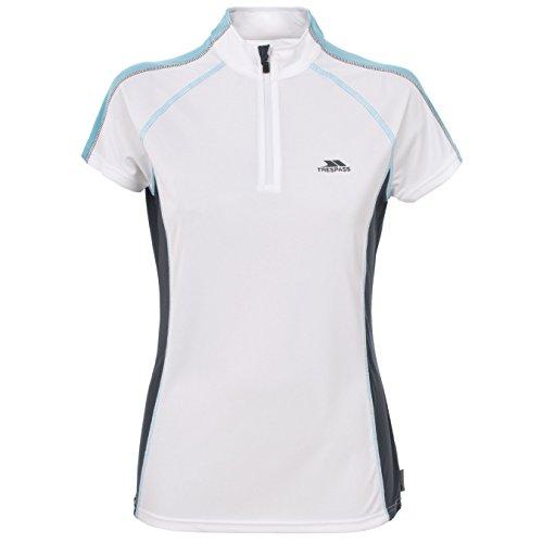 Trespass Tailwind - T-shirt de sport - Femme Bleu clair