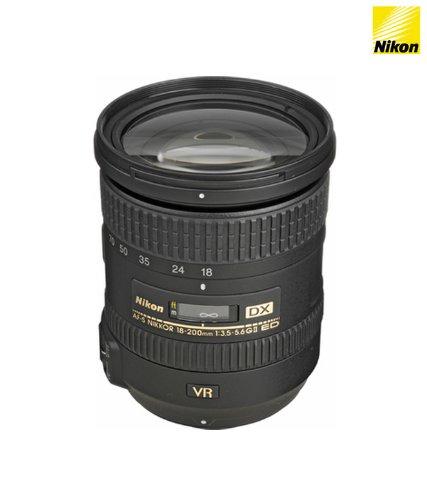 Nikon Af-s Dx Nikkor 18-200mm F/3.5-5.6g Ed Vr Ii Telephoto Zoom Lens For Nikon Dslr Camera