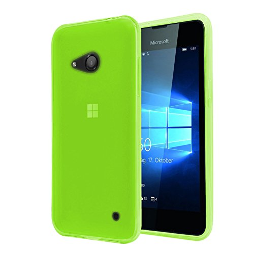tbocr-nokia-microsoft-lumia-550-green-ultra-thin-tpu-silicone-gel-case-cover-soft-jelly-rubber-skin