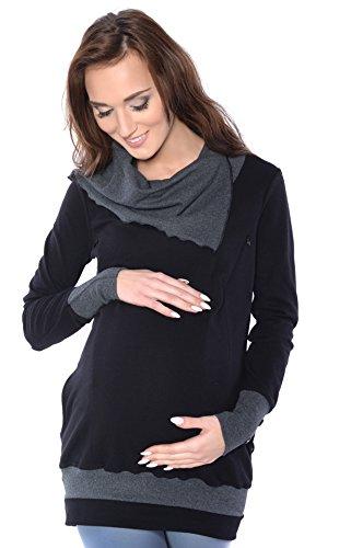 Mija - 2 en 1 maternité et soins Pull jumper Tunique 4020A Mija Arts