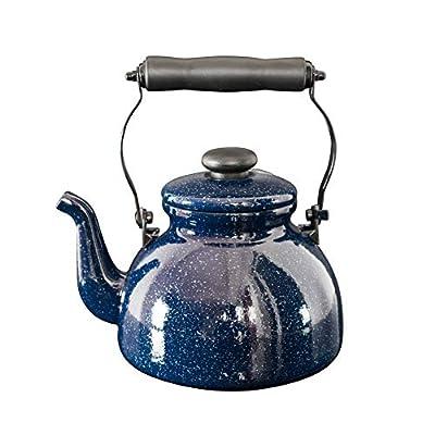 émail Galaxy Starry 2L sifflante Teakettle Théière Induction gaz General bouilloire à thé