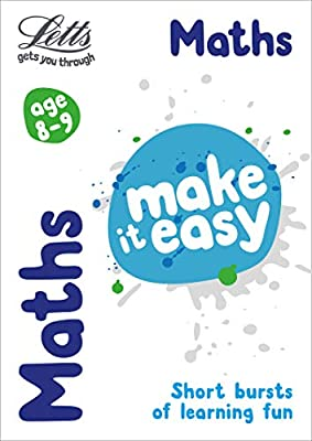 Maths Age 8-9 (Letts Make It Easy) by Letts