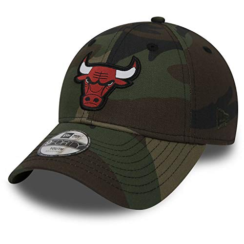 New Era 9Forty Adjustable Kinder Cap Chicago Bulls Camouflage, Size:Toddler