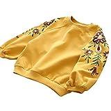 i-uend Baby Sweatshirt, Kleinkind Kids Baby Girl Floral Pullover Tops Outfits Kleidung für 0-5 Jahre