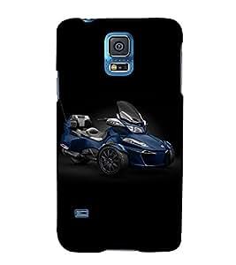 Fuson Designer Back Case Cover for Samsung Galaxy S5 Neo :: Samsung Galaxy S5 Neo G903F :: Samsung Galaxy S5 Neo G903W (Motorbike theme)