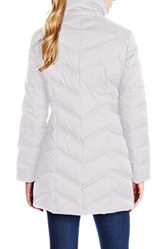 XIAOLV88 Damen Mantel Weiß - Weiß