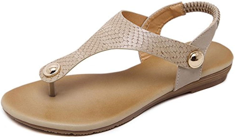 sandales xiaolin simple et confortable à fond chaussures plat réconfort étudiant femmes chaussures chaussures fond de plage tep occasionnel (facultatif. e3d82f