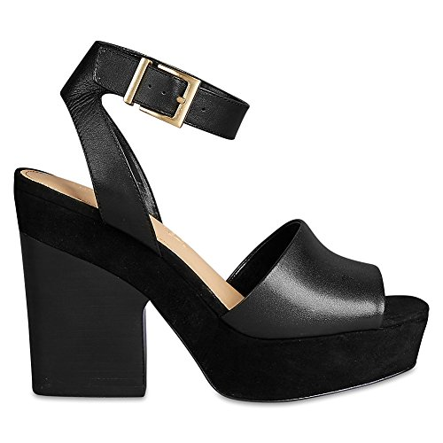 Marks & Spencer AUTOGRAPH T021722 Leather Block Heel Sandals with Insolia® RRP...