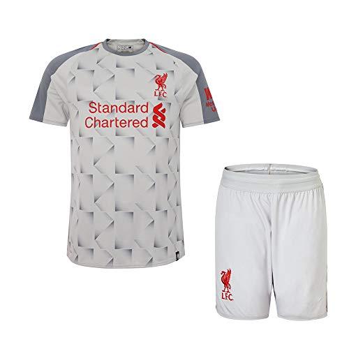 luckyid Personalisierte Fußball-Kits für Erwachsene Jugendjungen für Kinder, Anpassen 2018-2019 (Heim & Auswärts) Fußball Fußball-Trikot und Shorts und Socken Personalisierter Name und Nummer -