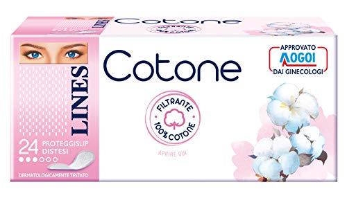 Coton proteggislip allongé – 6 boîtes de 83 g