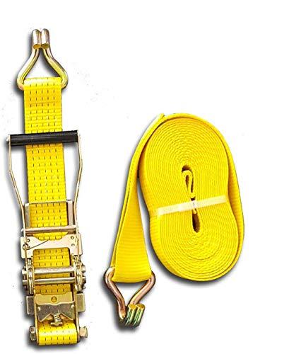 Trupa Spanngurt 5to 20m 50 mm /2-teilig Ergo-Ratsche EN 12195-2 2500/5000 daN gelb