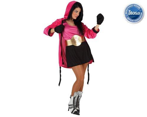 Imagen de atosa  disfraz boxeadora talla 2.