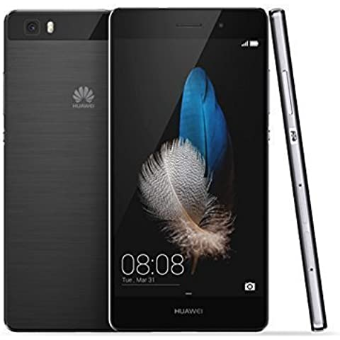 Huawei Ascend P8 Lite Smartphone, 16 GB, Marca TIM, Color Negro
