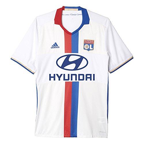adidas Ol H JSY 1 Kit Olympique De Marsella 2015/16 Maglietta Uomo