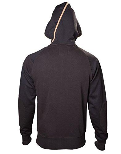 Assassin's Creed Herren Hoodie Pullover Syndicate Bronze Logo Black Schwarz