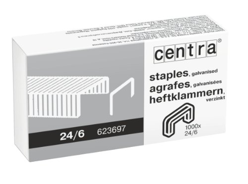 centra-24-6-mm-galvanised-staples-box-of-1000