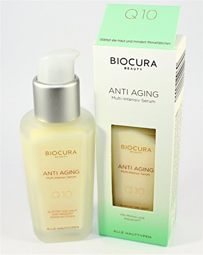 BIOCURA Beauty Anti-Aging Multi-Intensiv SERUM mit Mimox und Aquarich 50 ml