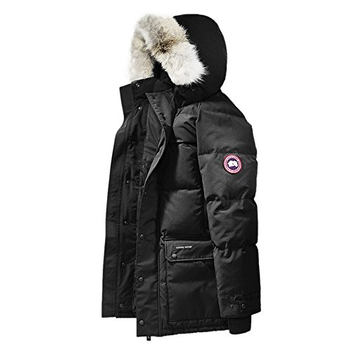 Canada-Goose-Mens-Down-Emory-Parka-Black-XL