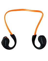 Corseca Sports Orange Bluetooth Headset
