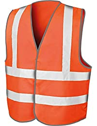 New autopista vez alcanzan Core de costura para chalecos de para hombre de trabajo chaleco de alta visibilidad reflectante